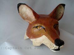 fox mask costume, Halloween