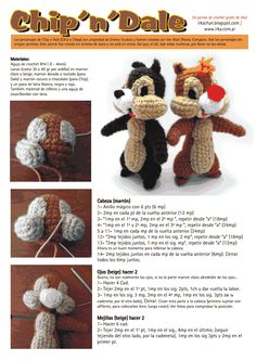 Chip and Dale crochet!!