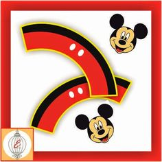 Kit Imprimible Cumpleaños Mickey y Minnie Mouse | Inspiration For Events