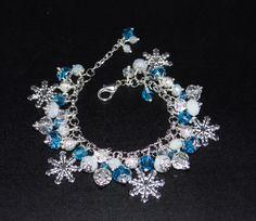 Frozen Charm Bracelet, Girls Bracelet, Charm Bracelet. FREE SHIPPING.