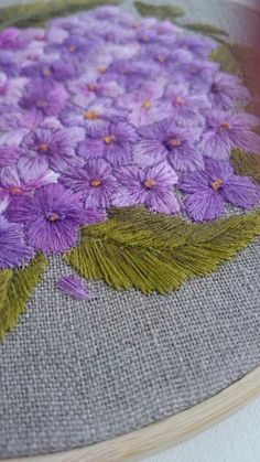 Marvelous Crewel Embroidery Long Short Soft Shading In Colors Ideas. Enchanting Crewel Embroidery Long Short Soft Shading In Colors Ideas. Crewel Embroidery, Embroidery Patterns, Pom Pom Animals, Lace Painting, Floral Bags, Seed Stitch, Butterfly Flowers, Embroidery Techniques, Needlepoint