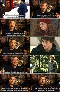 Funny pictures about Rupert Is Such A Smart Cookie. Oh, and cool pics about Rupert Is Such A Smart Cookie. Also, Rupert Is Such A Smart Cookie photos. Harry Potter Humor, Photo Harry Potter, Hery Potter, Mundo Harry Potter, Harry Potter Cast, Potter Facts, Harry Potter Universe, Hogwarts, Golden Trio