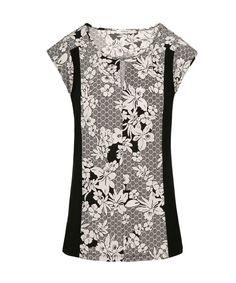 Extend Sleeve Print, Neutral Pattern