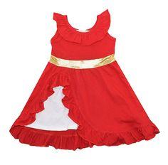 Elena Adventure Dress girls clothes,children's t shirt,kids cotton tops kids overall spring autumn clothes #Affiliate