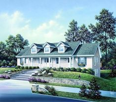 Strange Elevation Of Country Multi Family Plan 65546 Four Units Nice 2Brs Largest Home Design Picture Inspirations Pitcheantrous