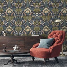 NEW WALLPAPERS – Woodchip & Magnolia Wallpaper Samples, New Wallpaper, Botanical Wallpaper, Design Repeats, Daily Walk, Pink Clouds, Run Around, Traditional Bathroom, Wall Murals