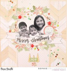 Sophie has a stunning layout to share this Christmas Eve. She has cleverly combined elements from several of our collections to create this page that is brimming with festive family love. ❤ @colortypesink #cocoavanillastudio #cocoa_vanilla #scrapbook #layout #embellishments #papercraft #memorykeeping #Christmas #christmascrafts