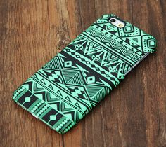 Green Tribal Pattern iPhone 6 Plus 6 5S 5C 5 4 Protective Case – Acyc