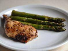 ED springthymechicken plate Spring thyme chicken -- omit pepper