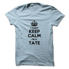 #Automotivetshirt... Cool T-shirts  Worth :$19.00Purchase Now  Low cost Codes View photographs & pictures of I cant keep calm Im a TATE t-shirts & hoodies:In case you don't completely love our design, you'll be able to SEARCH your favourite one through the use ....