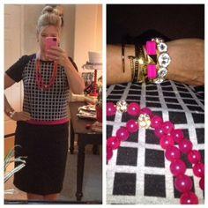 Dress Code: hot pink and black #theprincipaloffashion