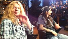 Ex-Dream Theater drummer Mike Portnoy has joined forces with Thin Lizzy guitarist/vocalist John Sykes and an as-yet-undisclosed bassist in a new power trio. Description from guitarworld.com. I searched for this on bing.com/images