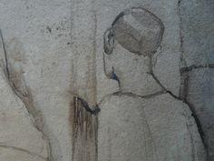 CHASSERIAU Théodore,1846 - Arabe barbu et autres Figures - drawing - Détail 09