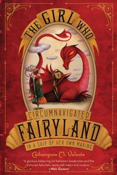 The Girl Who Circumnavigated Fairyland in a Ship of Her Own Making by Catherynne M. Valente, http://www.amazon.com/dp/1250010195/ref=cm_sw_r_pi_dp_-03Eqb1J44ASG