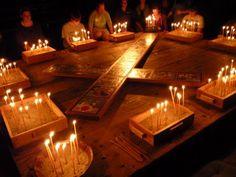 Holden Village prayer candles