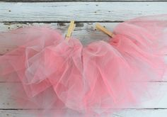 Classic Short Gray and Coral Tutu