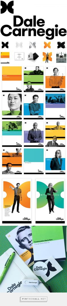 Brand New: New Logo and Identity for Dale Carnegie by Carbone Smolan Agency... - a grouped images picture - Pin Them All