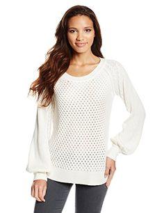 Ella Moss Women s Danya Pullover Cashmere Blend Bell Sleeve Sweater ~   198.00 at amazon.com 39d771c0b