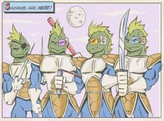 Teenage Mutant Saiya Turtles