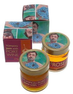 Jam with Porto Wine... Love the concept behind this product