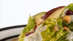 Giada De Laurentiis - Butter Lettuce Salad with Gorgonzola and Pear Dressing