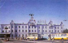 Łódź-Fabryczna, lata 70/80 #lodz