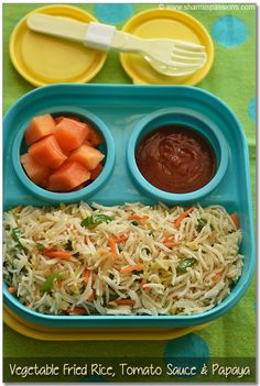 Side dish for Chapathi - Gravy Recipes for Roti - Easy Sidedish for Poori - Sharmis Passions Lunch Box Recipes, Lunch Snacks, Baby Food Recipes, Cooking Recipes, Lunch Ideas, Toddler Recipes, Snack Box, Toddler Meals, Rice Recipes