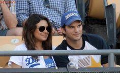 La historia de amor entre Ashton Kutcher y Mila Kunis