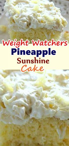 Pineapple Sunshine Cake – Don't LOSE this recipe! – Skinny Recipes