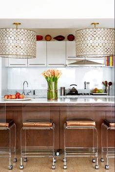 flush mounted lights? check these out--@Laura Emerick