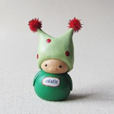 Wee Jester Gnome. Misfit. by humblebea, via Flickr
