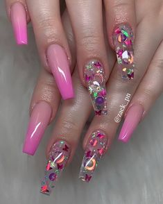 Do you want to have these fabulous nails as soon as possible? Take a look at our collection of best coffin nail designs! Summer Acrylic Nails, Cute Acrylic Nails, Pastel Nails, Summer Nails, Nail Swag, Perfect Nails, Gorgeous Nails, Fabulous Nails, Stylish Nails