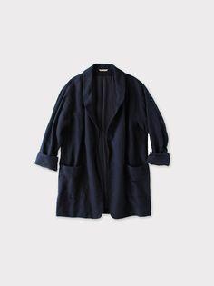 Smoking jacket~cotton linen 3