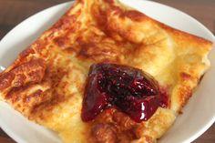 pannukakku - Finnish baked pancakes.  see also http://allrecipes.com/recipe/finnish-pannu-kakku/