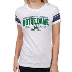 47 Brand Notre Dame Fighting Irish Ladies 2013 BCS National Championship Game Bound Game Time T-Shirt!
