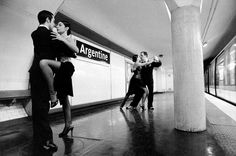 Paris metro station acted out
