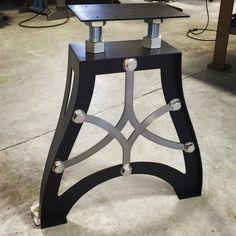 Vintage Industrial metal table legs
