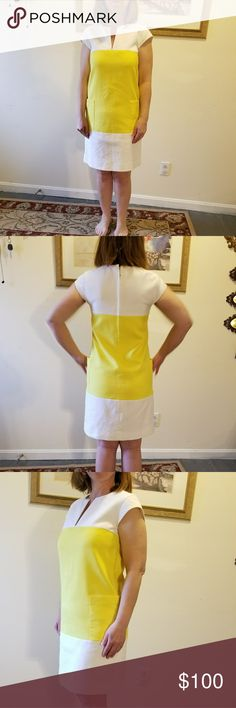 Kate Spade sleeveless dress Get ready for spring in this gorgeous Kate Spade sleeveless dress. Fully lined! Pre-owned and loved. kate spade Dresses Midi