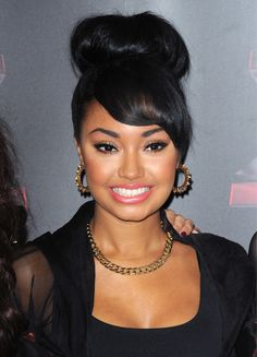 @Leigh Anne Pinnock Hi! If you see this I will be very happy haha. I love you so much Leigh Anne! I think you are very sweet, funny, cool, kind, nice, pretty and amazingly beautiful. Please don't let any haters get to you. You are a very strong girl :-) I love you so much Leigh Anne! Back To School Hairstyles, Cute Hairstyles, Leigh Ann, Side Swept Bangs, Cher Lloyd, Big Hair, Girl Short Hair, Little Mix Funny, How To Style Bangs