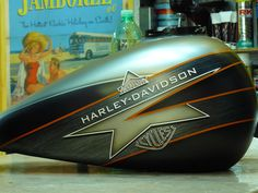 Doctors Brush Motorcycle Decals, Custom Paint Motorcycle, Motorcycle Tank, Custom Tanks, Custom Bikes, Hd Street Glide, Harley Davidson Wallpaper, Motorbike Design, Honda Bikes