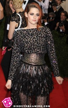 Kristen Stewart's grumpy style at the Met Gala