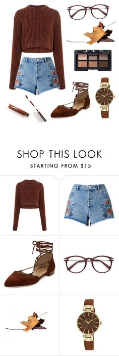 """""""Rust"""" by arielc93 ❤ liked on Polyvore featuring TIBI, Miss Selfridge, Stuart Weitzman, Anne Klein and NARS Cosmetics"""