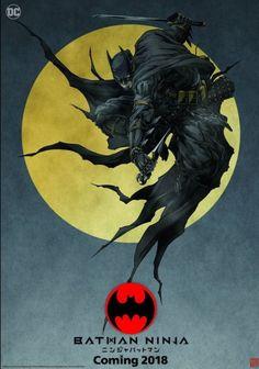 The Batman Ninja Anime Shows a Dark Knight We've Never Seen Before Batman Ninja, Im Batman, Batman Story, Ninja Art, Arte Dc Comics, Bd Comics, Comic Kunst, Comic Art, Comic Book
