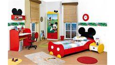 Mickey bedroom