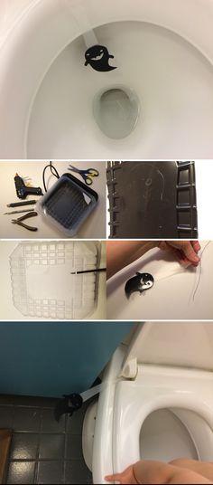 Pönttökummitus | lasten | askartelu | syksy | halloween | aave | haamu | käsityöt | koti | koriste | toilet | wc | ghost | DIY ideas | kid crafts | decoration | Pikku Kakkonen