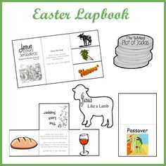 FREE Easter Lapbook!