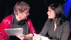 Sabine (links) und Katharina Wackernagel. Foto:Socher