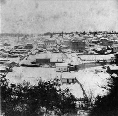 Chippewa Falls around 1870. Image courtesty of the Wisconsin Historical Society.