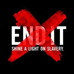 Between 14,500 and 17,500 people are trafficked into the US annually. That's 48 a day. Be in it to END IT with END IT Movement.