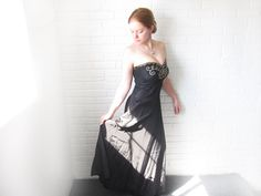 She couldn't help but to blame it on Paris. by Terri Blanchard on Etsy